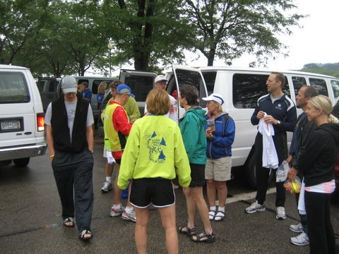 Ragnar Team at the Start